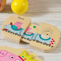 Your little one will love this personalised pull and play toy featuring Peppa Pig.