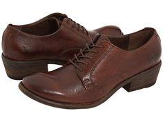 Frye Carson Oxford Dark Brown Leather - 6pm.com