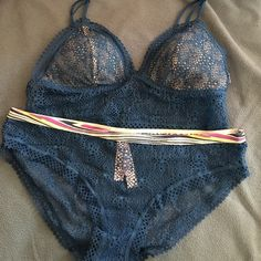 Victoria's Secret set Victoria's Secret bra and underwear in size medium never used. Victoria's Secret Intimates & Sleepwear Bras