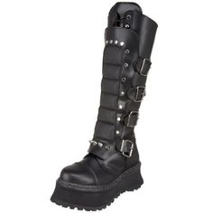 9a9593ea3 Boots for Burning Man  Pleaser Men s Ravage 2 Buckled Boot  burningman  Leather Buckle