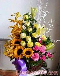 hinh anh hoa sinh nhat, flower  Liên hệ đặt hàng Hotline: 0988 903 205 - 0984 08 1332 Email: saledienhoa360@gmail.com FB: https://www.facebook.com/Dienhoa360 Web: http://dienhoa360.com Yahoo1: levien2004@yahoo.com Yahoo2: phansim1502@yahoo.com