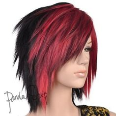..that's how my hair needs to be now that it's short Yes I know it's a wig