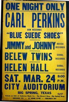 Carl Perkins Car Accident