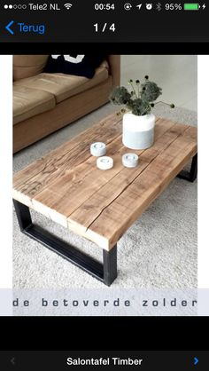 34 Awesome Diy Coffee Table Projects Once you have located the right DIY coffee . - 34 Awesome Diy Coffee Table Projects Once you have located the right DIY coffee table plans, comple - Diy Coffee Table Plans, Wood Coffee Tables, Coffee Ideas, Natural Wood Coffee Table, Simple Coffee Table, Natural Coffee, Reclaimed Wood Coffee Table, Diy Tisch, Sweet Home
