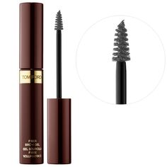 Shop TOM FORD's Fiber Brow Gel at Sephora. A fiber-filled, brow-gel formula that creates full, natural-looking brows. Fix Eyebrows, Tweezing Eyebrows, Threading Eyebrows, Microblading Eyebrows, Best Eyebrow Makeup, Best Eyebrow Products, Eyebrow Pencil, Eye Makeup, Beauty Products