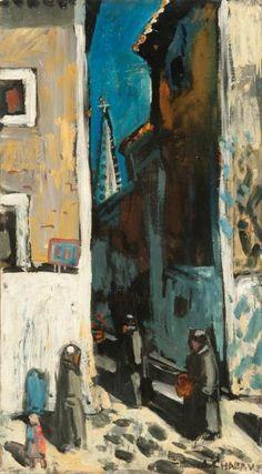 Auguste Chabaud, La ruelle