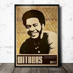 Bill Withers Soul Funk Poster