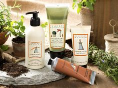 Our Gardeners Collection offers deep nourishment for the hardworking bodies that beautify the outdoors. Even those without a green thumb, take heed. These products are splendidly restorative for gardeners and non-gardeners alike.