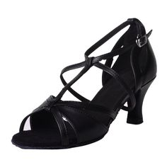 Jig Foo Sandals Open-toe Latin Salsa Tango Ballroom Dance Shoes for Women with 2.2' Heel -- Read more reviews of the product by visiting the link on the image.