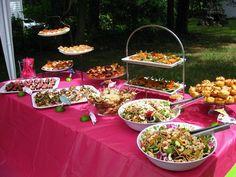 food station wedding shower ideas garden party ideas шьфве аеъдиьшсдхя