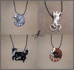 Summer animal necklaces by AlviaAlcedo.deviantart.com on @deviantART