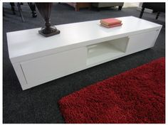 MODERN METRO WHITE TV STAND (150CM) White Tv Stands, White Tv, Furniture, Home, Tv Stand 150cm, Modern, Coffee Table, Home Decor, Furniture Auctions