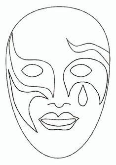 Die 378 Besten Bilder Von Fasching Masks Printable Masks Und Costumes