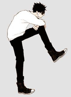 Kuroo Haikyuu, Kuroo Tetsurou, Akaashi Keiji, Haikyuu Anime, Hot Anime Boy, Anime Guys, Haikyuu Characters, Anime Characters, Kurotsuki