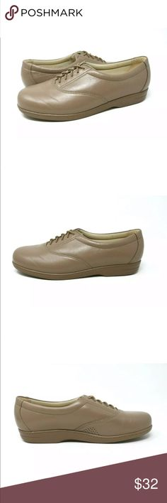 52bf5f9130590c SAS Whisper Mocha Leather Lace Up Oxfords Comfort SAS Whisper Mocha Leather  Shoes. Excellent condition
