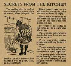 Secrets from the kitchen, 1898