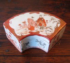 19th century signed Kutani box. c. 1875