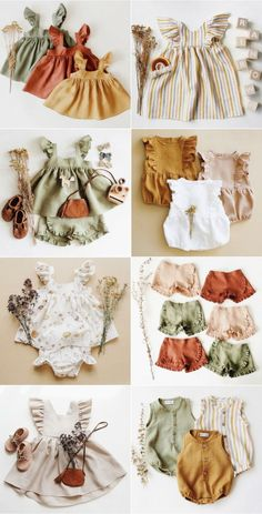 Irina Pushko is the designer and maker behind one of Etsy's most wonderful clothing stores for children, Dannie and Lilou. Baby Clothes Patterns, Girl Dress Patterns, Cute Baby Clothes, Doll Clothes, Clothes For Kids, Baby Girl Clothing, Kids Clothing, Handmade Baby Clothes, Vintage Baby Clothes