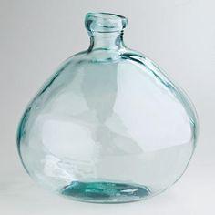 """Wide 12.5"""" Barcelona Vase - World Market"""