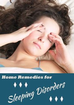 Home Remedies for Sleeping Disorders - TechMedisa
