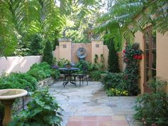 A serene little oasis of a side courtyard by Anthony Brancato Landscape Contractor.  What a wonderful space to just escape to when you need a little solitude!