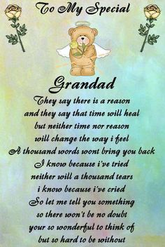 Keep sake in loving memory ,grandad, grandad only | Memories and ...