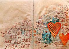 Velkommen til min scrappeverden: ArtJournal