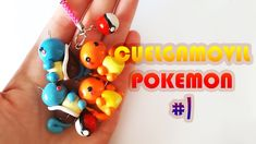 Pokemon Cuelgamóvil #1 Polymer Tutorial | Fimo | Porcelana