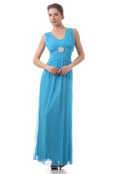 long semi-formal dress. available in royal blue only. not available in color shown. Perfect for cruises, weddings and other special occassions. $135