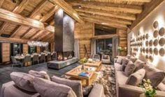 featured posts image for Luxurious chalet in the Swiss Alps offers ski resort winter escape Chalet Design, Alpine Chalet, Ski Chalet, Zermatt, Industrial Style Bedroom, Rustic Lake Houses, Barn Houses, Chalet Interior, Swiss Alps