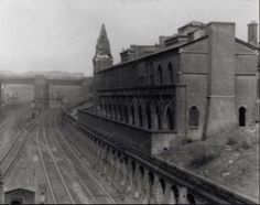 Kings Cross Cemetery Road Station 1954