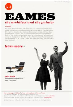 Eames Email Campaign