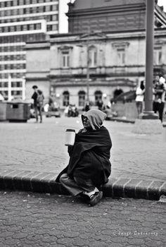 Foto callejeras. Plaza de la cultura CR