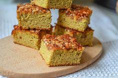 zdrave-dobroty   Škoricovo-orechový koláčik s medom z kokosovej múky