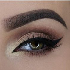 Eyeliner on point.