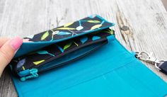 Bring the Basics Bag - Cellphone Wallet | Craftsy
