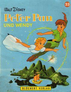 Walt Disney / Peter Pan und Wendy  1962