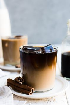 Treat yourself to a glass of Horchata Cold Brew Latte. Make your iced coffee even more special by making it with homemade horchata! This post is sponsored by Horizon Organic. Tea Recipes, Coffee Recipes, Smoothie Recipes, Iced Coffee, Coffee Drinks, Starbucks Coffee, Coffee Jelly, Coffee Tables, Homemade Horchata