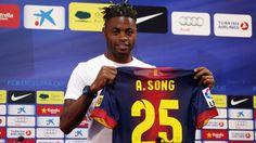 FC Barcelone : Alex Song est le septième Blaugrana Africain