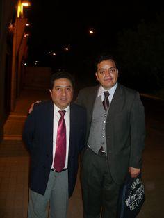 Freddie Armando Romero y Pedro Morales Mansilla en presentación de libro en homenaje al Presidente Valentín Paniagua Corazao. (30.11.2010)