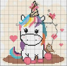 Most recent No Cost Cross Stitch unicorn Ideas Given that For a nice and corner stitches considering I became a girl We in some cases expect that everybody Cross Stitch Horse, Unicorn Cross Stitch Pattern, Cross Stitch Baby, Cross Stitch Animals, Cross Stitch Charts, Cross Stitch Patterns, Hama Beads Patterns, Beading Patterns, Cross Stitching
