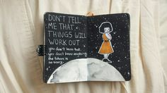 "kawaii-fucker: "" I never posted any pictures from my last art journal but I think I'm going to start posting the pages out of my new one! """