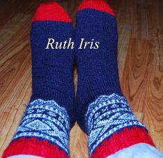 Mellom himmel og jord: Marius sokker trinn for trinn Knitting Socks, Alter, Barn, Crafts, Fashion, Socks, Knit Socks, Moda, Converted Barn