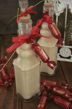 Liquore cremoso alla vaniglia caramelle Rossana fine pasto delizioso che addolcirà il vostro palato con finezza ed eleganza