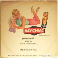 A nice Brazilian record put out by the Ray-O-Vac Battery Co