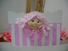 MARTINET.artesana: septiembre 2010 Baby Shower, Boxes, Fabric Dolls, Jars, Decorated Boxes, Babyshower, Baby Showers