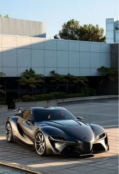 The stunning FT-1 concept that Toyota nearly broke the internet. Click to find out why... #spon #newcars