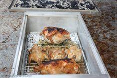 Roasted turkey in the La Caja China!