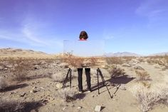 Us Through This by Richard T. Walker Juxtaposes Man & Nature #desert #photography trendhunter.com