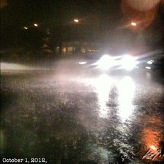 嵐だ #storm heavy #rain#alabang#philippines#フィリピン